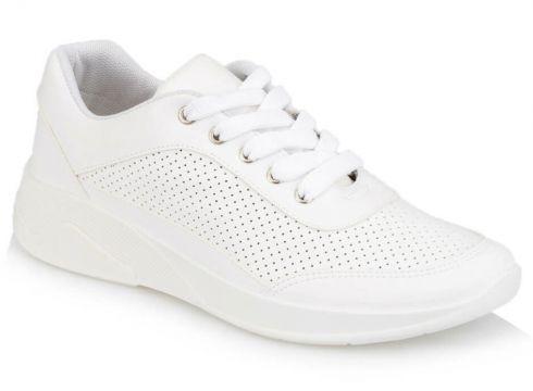 Polaris 91.313373.z Beyaz Kadın Spor Ayakkabı - FLO Ayakkabı(84434959)