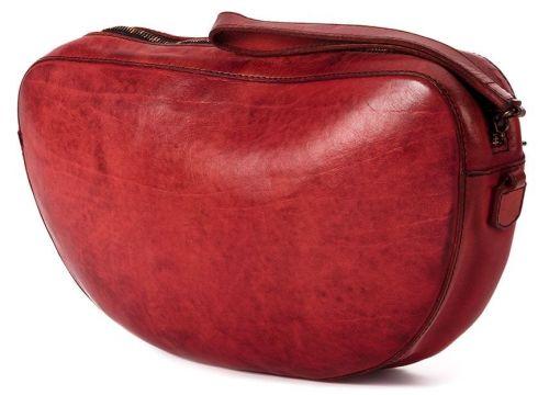 Numero 10 sac porté épaule en cuir - Rouge(76531480)