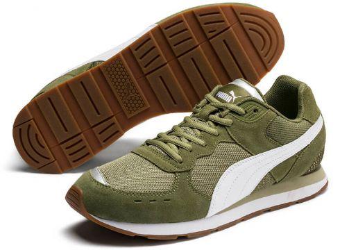 Puma Vista Haki Beyaz Unisex Sneaker Ayakkabı - FLO Ayakkabı(70177857)