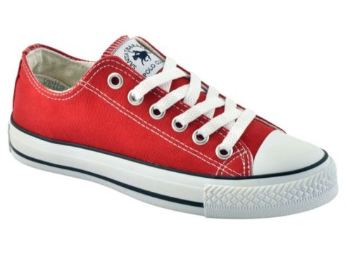 SANTA BARBARA POLO Club Converse Ayakkabı Kırmızı Spc-01(110967095)