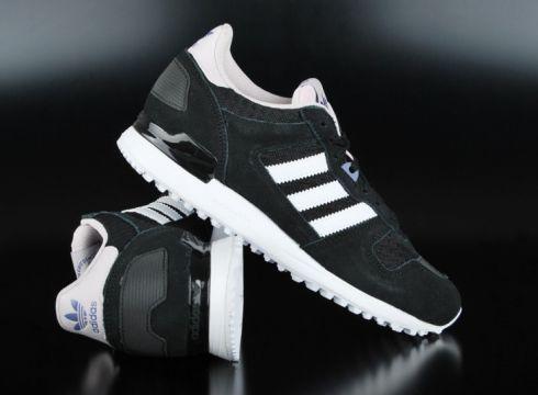 Adidas ZX 700 Core Black White Ice Purple Sneaker B-Ware US5/EU36(77151510)
