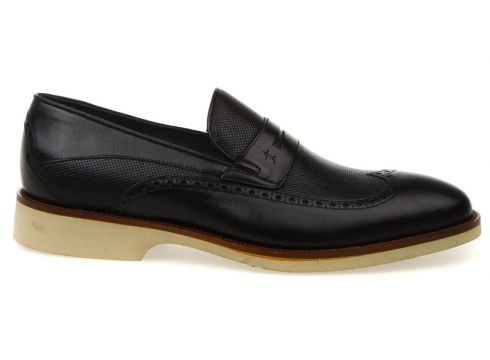 Kemal Tanca Erkek Siyah Klasik Ayakkabı(113981595)