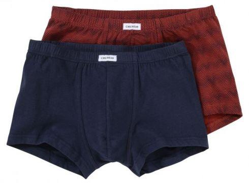 Ceceba: Pant im Doppelpack aus Stretch-Cotton, 10, Rot(95028539)