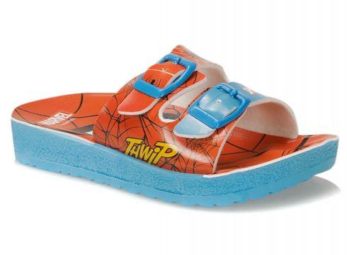 Spiderman Yazlik Terlik Kırmızı Erkek Çocuk Terlik - FLO Ayakkabı(89296546)