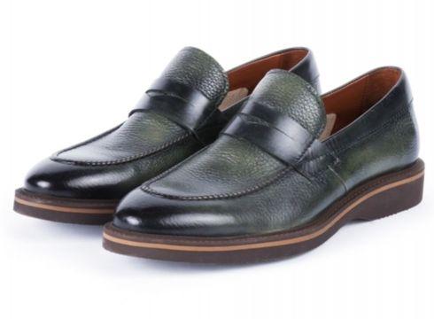 Libero Yeşil Gündelik Deri Erkek Ayakkabı(105178387)
