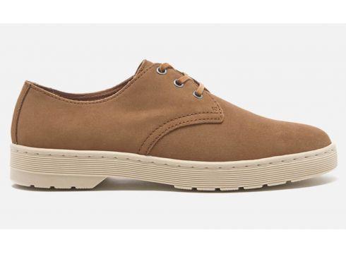 Dr. Martens Men\'s Cruise Coronado Suede Derby Shoes - Tan - UK 9 - Tan(50502160)