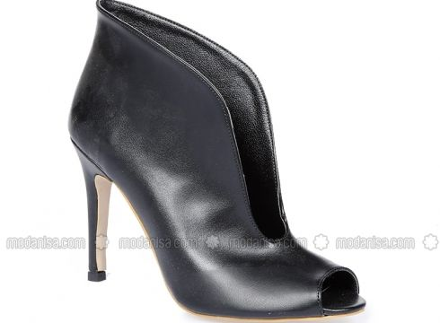Black - High Heel - Boots - By Lena Shoes(100915353)