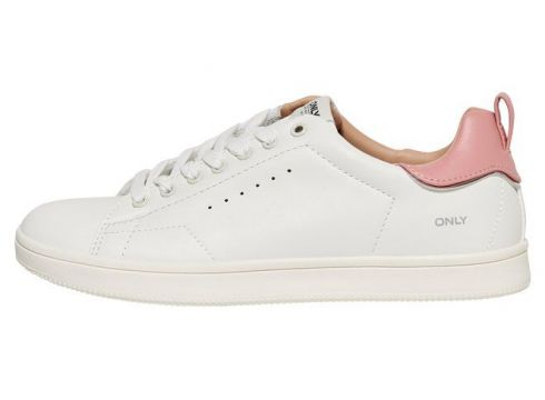 ONLY Couleur Unie Baskets Women White(93105717)